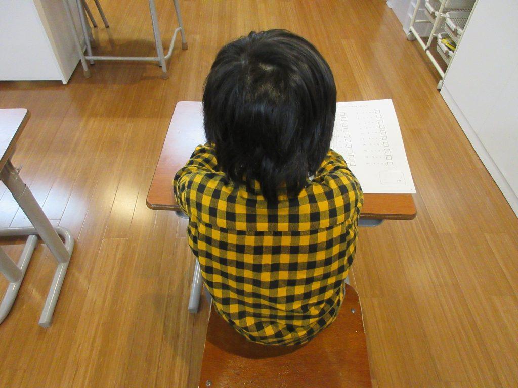 自由時間に学習に取り組む生徒