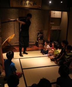 忍者の術を教わってきました!