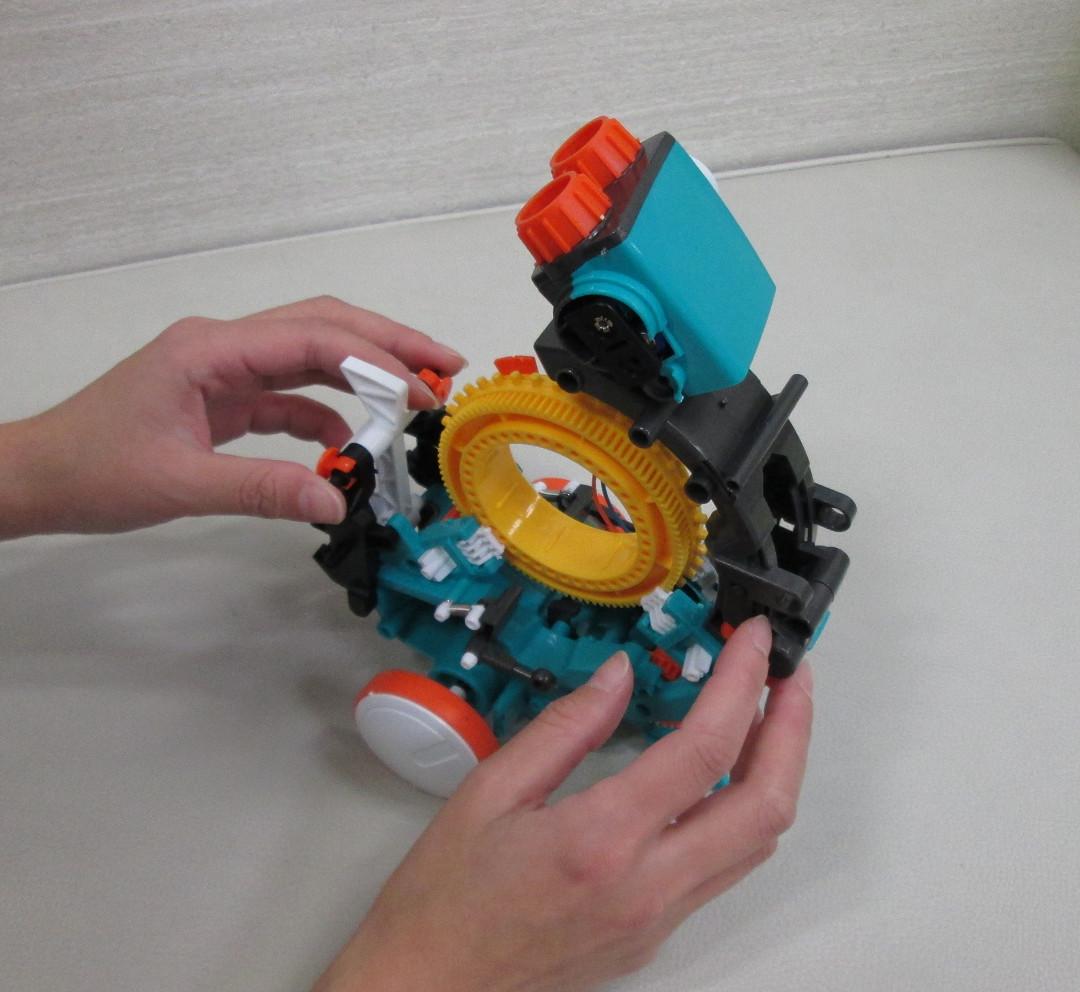 4時間の本格ロボット工作!2