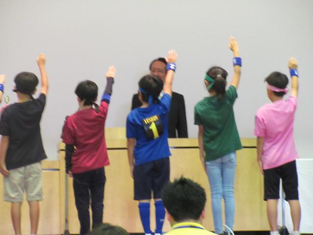 田町校、4年生以上優勝! 3年生以下準優勝!