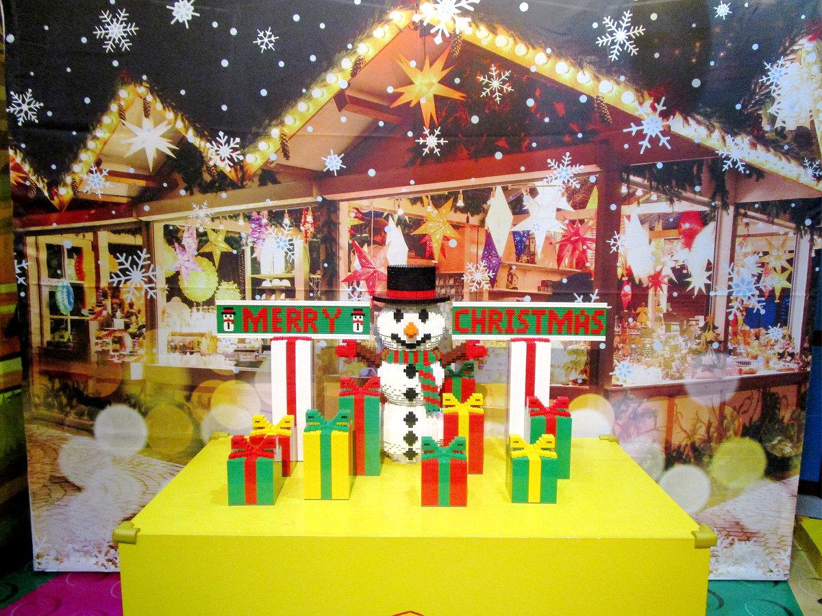 クリスマス仕様のレゴランドです。みんなで楽しみました!!