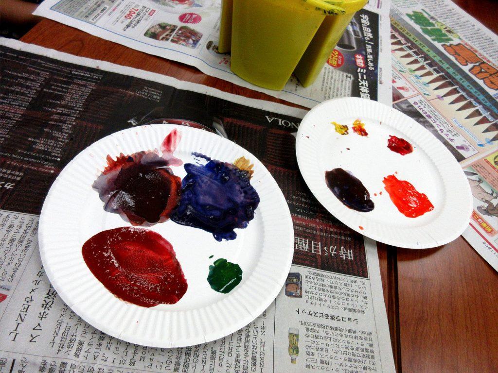 色の三原色を使っていろんないろんな色を作ってみよう