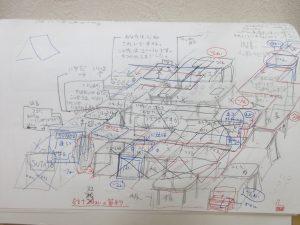 複雑な設計図!