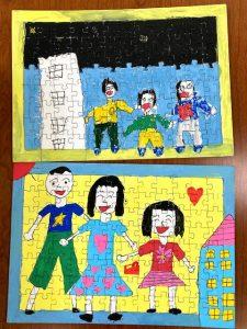 ほかにもたくさん家族の絵が描けました